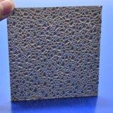 10 ans ont garanti la feuille solide gravée en relief par polycarbonate