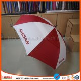 Logo Printing를 가진 선전용 Double Layer Windproof Customized Golf Umbrella