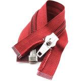 Zipper de nylon do Sell quente para sapatas e vestuário