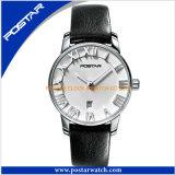 Reloj unisex de lujo del acero inoxidable de la manera superior de la venta