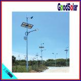 Luz de rua solar Integrated clara de alumínio do diodo emissor de luz do corpo 40W-200W
