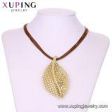 Späteste Form Necklace-00613 Xuping Rhodium-Kreuz-Diamant-Silber-Schmucksache-keramische Halskette in den Edelstahl-Schmucksachen