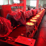 DMX 120X3w RGBW가 실내 단계 LED 동위에 의하여 점화한다