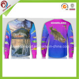 Рубашка рыболовства втулки Быстро-Засыхания Dreamfox длинняя с печатание сублимации