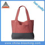 Женщины сумки плеча покупкы ручки перемещения рециркулируют мешок Tote