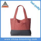 As mulheres da bolsa do ombro da compra do punho do curso recicl o saco de Tote