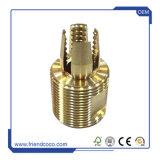 Haute précision de pièces en laiton usiné CNC tour tourner / d'usinage CNC / Fraiser / l'anodisation / Stamping / pièces de perforation