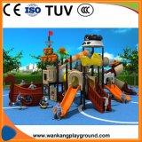 Im Freienspielplatz-Geräten-Vergnügungspark-Plättchen für Kinder und Kinder