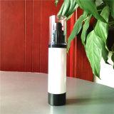Piccola plastica a vite come bottiglia cosmetica di plastica senz'aria del nero dello spruzzo della pompa