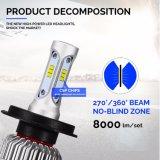 하이빔 S2 9004 9007 Csp LED 차 헤드라이트
