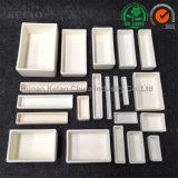 Alumina van de Weerstand van de Corrosie de Rechthoekige Ceramische Smeltkroes op hoge temperatuur van het Dienblad voor de Oven van de Oven