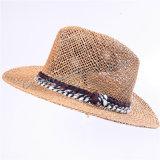 Sombrero del compartimiento de Panamá del papel de paja del sombrero del verano de Widebrim