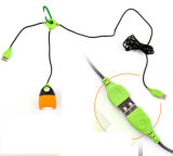 Multi couleur Outdoor Camping crochet Chainable lumière LED lampe USB
