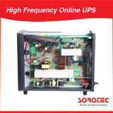 3 / 1 Fase de 380VAC/220VAC UPS en línea de alta frecuencia con el 0,9 Factor de potencia 10-20 kVA.