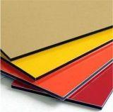 PVDF revestimiento de paneles sándwich de aluminio de PE