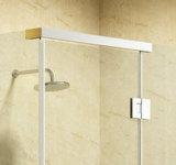 Aço inoxidável Rectangualr Hotcake forte ducha de dobradiça da cabina de sala de gabinete