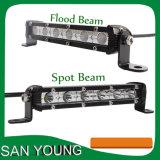 la garantía 108W de 37inch 3years adelgaza la viga combinada de la barra ligera del CREE LED de barra de iluminación del camino LED