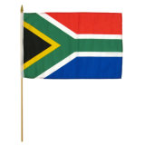 Оптовая торговля Индивидуальные мини футбол в руках флаг (YH-HF048)