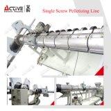 El PE plástico de los PP forma escamas máquina doble de la granulación del anillo del agua de la etapa