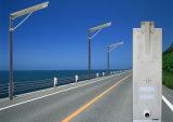 Todo en uno de 30W/ Calle Solar integrada Lámpara de luz// Iluminación con cámara IP