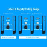 8.2MHz RF EASのアンテナ警報システム6.7MHzの頻度店盗難防止EASのための任意選択アルミ合金の店の防犯ゲートRFのラベルの札のスキャンナー