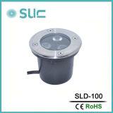 3.8W im Freien Tiefbaulampen des Fußboden-LED
