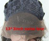 최신 머리 브라질 파도치는 형식 느슨한 파 레이스 정면 사람의 모발 가발