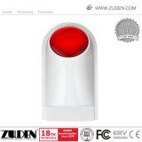 Sistema de alarme de intrusão sem fio GSM para fins industriais