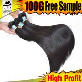 Благоприятное цена волос 100% девственницы бразильянина 10A
