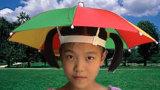 1.Umbrella帽子の傘の帽子材料: PP 2.色: 白く、黒い、または他のどの色3.の重量のどちらある場合もある: 媒体、2.0-2.5g
