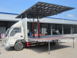 Het OpenluchtStadium van Forland 4X2 Vrachtwagen het 20 Beweegbare LEIDENE van M2 Voertuig van het Stadium