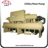 Refrigeratore di acqua raffreddato aria aria-acqua industriale della vite