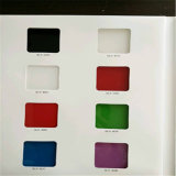 Peint en vert 4 mm de verre / la cuisson en verre (noir, rose, blanc, jaune, bleu)