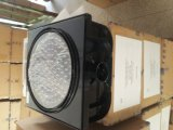 200/300mm 태양 강화된 LED 황색 번쩍이는 경고등