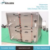 Sac de filtration d'air pharmaceutique/sac hors du boîtier de filtre HEPA de changement sûr