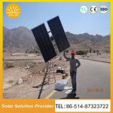 Mono sistema de iluminación solar de las luces de calle del panel solar de la eficacia alta LED
