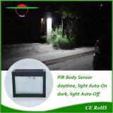 Luzes de LED brilhante Arc-Shaped Iluminação Exterior Jardim à prova de Luz Solar