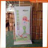 Banco di mostra promozionale esterno del manifesto di figura stabile del portello di prezzi di fabbrica