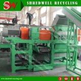 O motor de Siemens desgastado/gastou/pneu Disused que recicl a máquina para o Mulch de borracha de 10-20mm