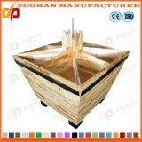 Cremalheira de madeira do Shelving do indicador do armazenamento vegetal de fruta da alta qualidade (Zhv59)