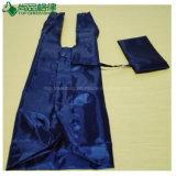 Forme de T-Shirt Sac shopping pliable en nylon polyester en sachet à fermeture éclair