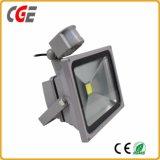 Indicatore luminoso di inondazione esterno dell'indicatore luminoso di inondazione di SMD LED 10W 20W 30W 50W con il sensore