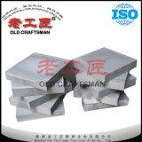 Placa do carboneto Yg6/Yg8/Yg15 cimentado para a estaca