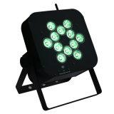 1개의 LED 동위 12 빛에 대하여 무선 건전지 재충전용 원격 제어 12W RGBW 4