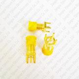 Goldener SMA weiblicher Jack Verbinder-gerader Enden-Produkteinführungs-Lötmittel Schaltkarte-Montierung HF-Verbinder-Adapter
