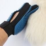 2 en 1 poils de chien Remover Mitt Deshedding doux et brosse avec pointes en caoutchouc