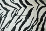 Imprimé animal microfibre Fournisseurs de tissus de chenille (fth31892)