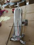 Schelle-Filter-Rohrleitung-Grobfilter-Gehäuse des gesundheitlichen Inline-Edelstahl-SS304 Tri