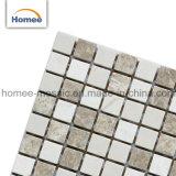 Mozaïek van uitstekende kwaliteit van Crema Marfil van de Bekleding van de Muur van de Prijs het Materiële Vierkante Goedkope Marmeren