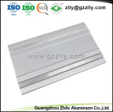 Perfil de aluminio de extrusión de materiales de construcción para el disipador de calor del radiador de equipos de audio para coche
